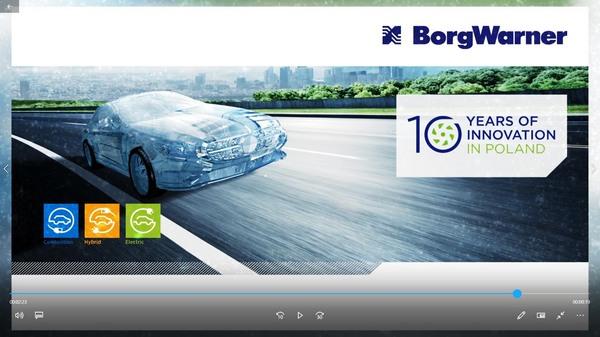 OKEY EVENT dla BorgWarner - Gala 10 lat